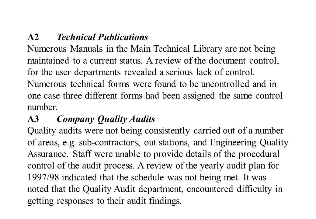 A2 Technical Publications