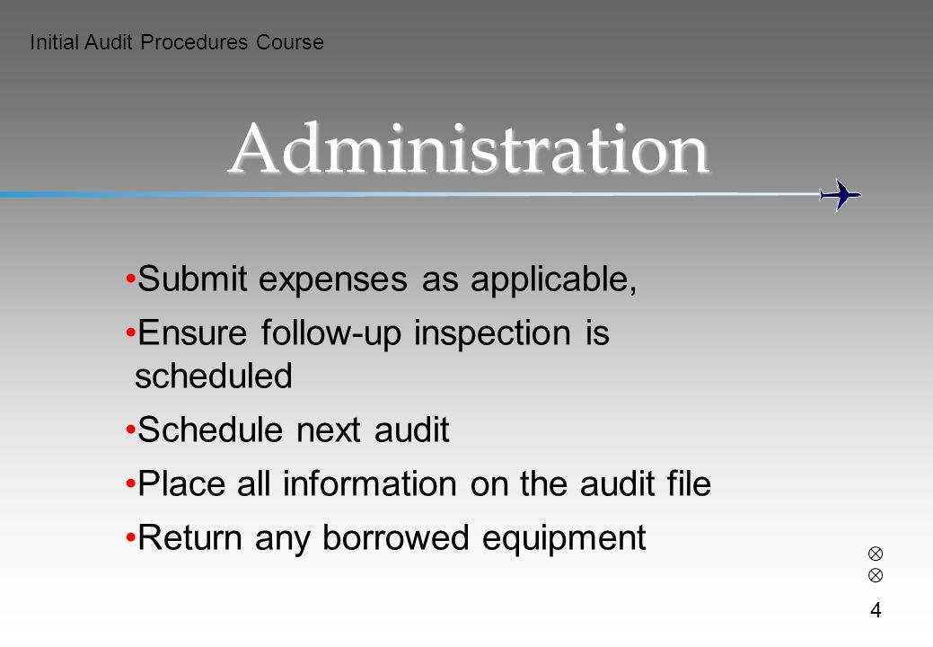 Administration Submit expenses as applicable,