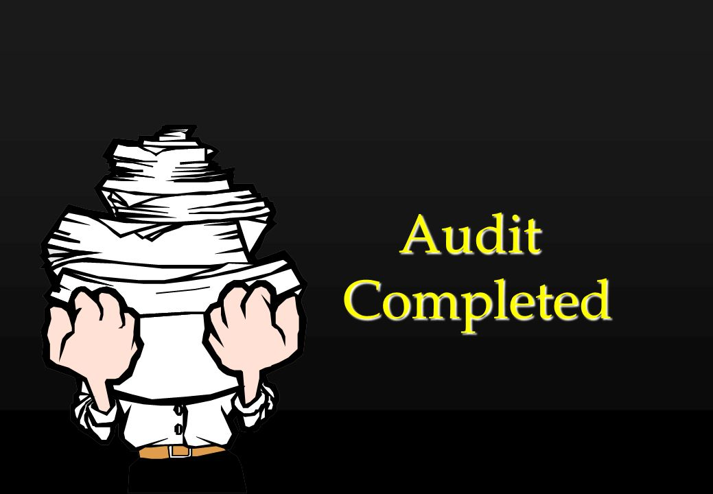 Audit Completed