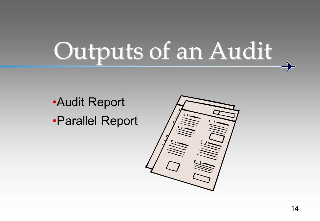A quick review before we look at the audit team
