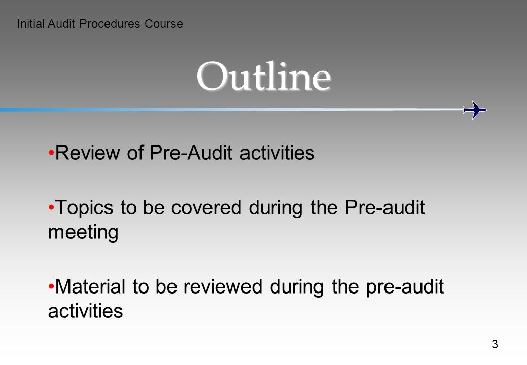 pre audit report Division of accounts and reports audit services team audit checklist audit planning memo 1 prepare an audit planning memo approximately two weeks prior to the beginning.
