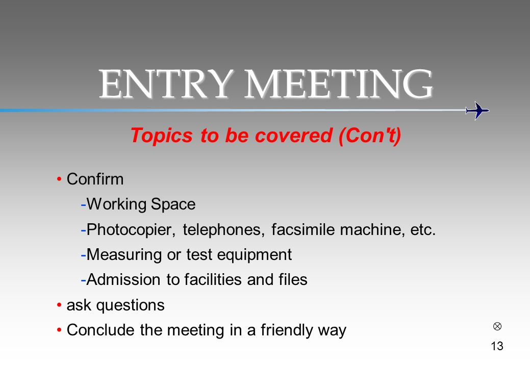 Topics to be covered (Con t)