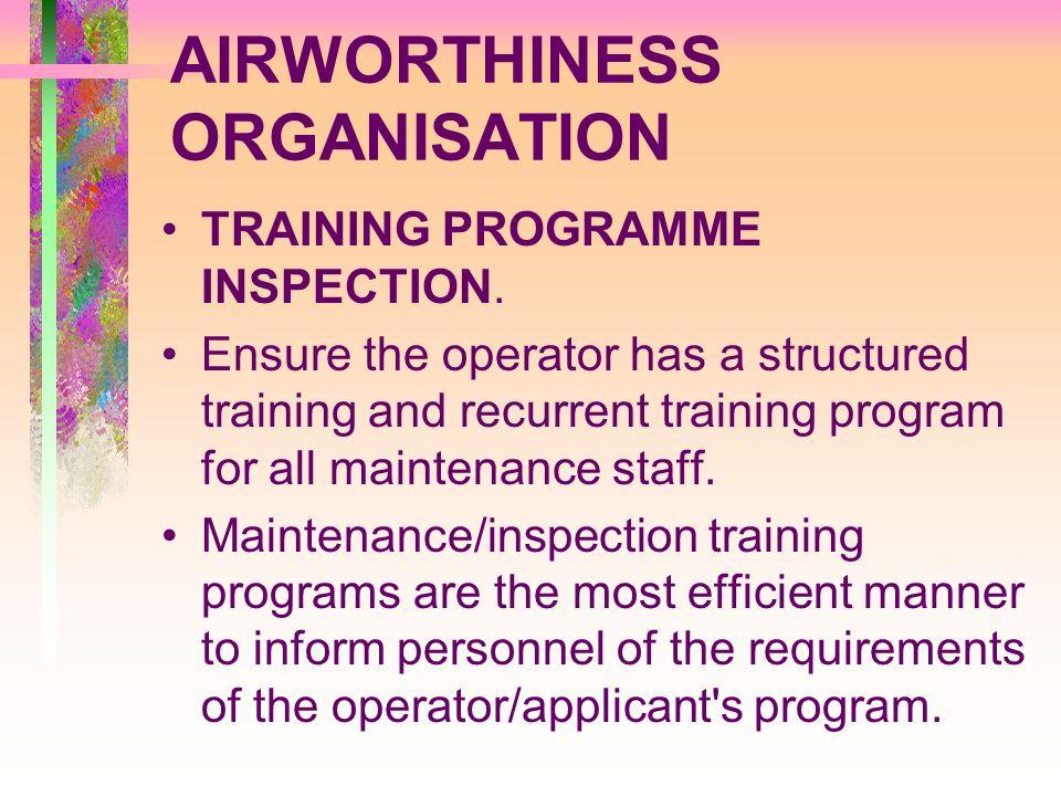 AIRWORTHINESS ORGANISATION