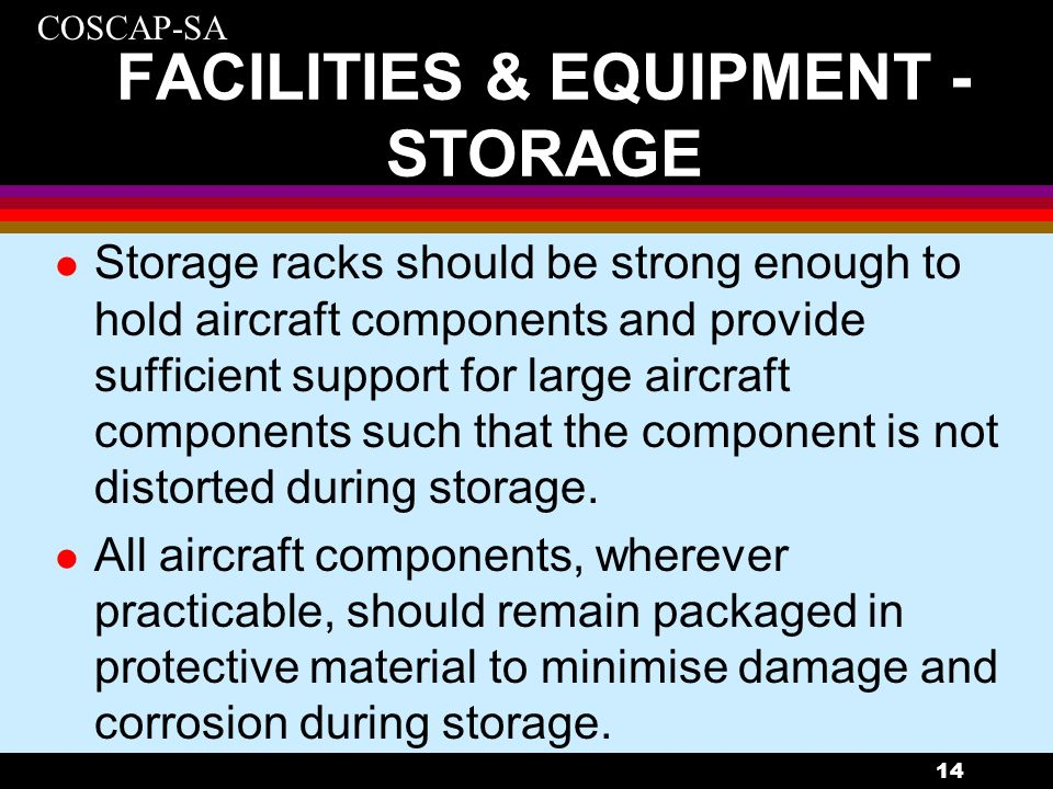 FACILITIES & EQUIPMENT - STORAGE
