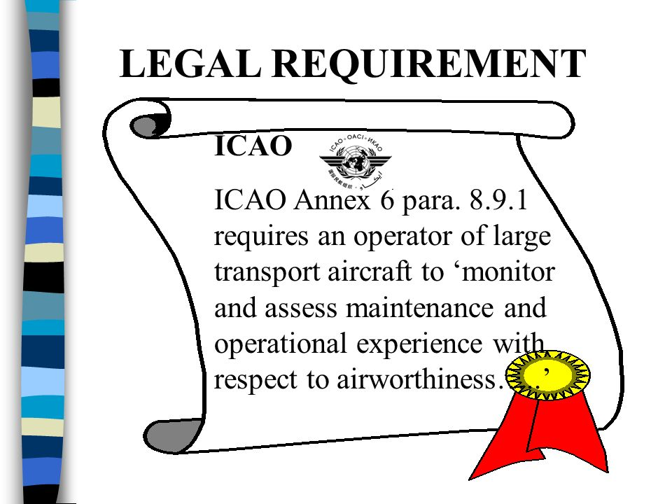 LEGAL REQUIREMENT ICAO