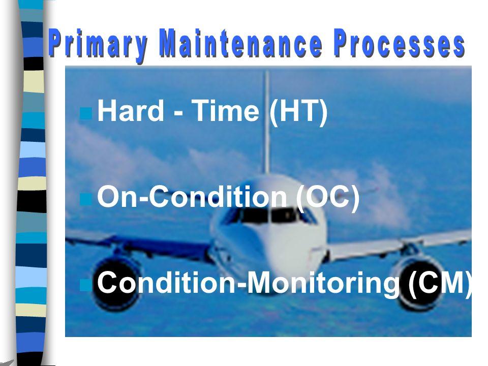 Primary Maintenance Processes