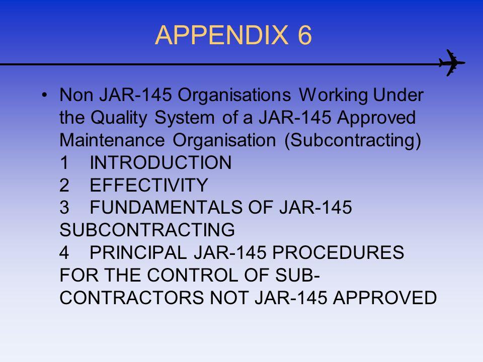 APPENDIX 6