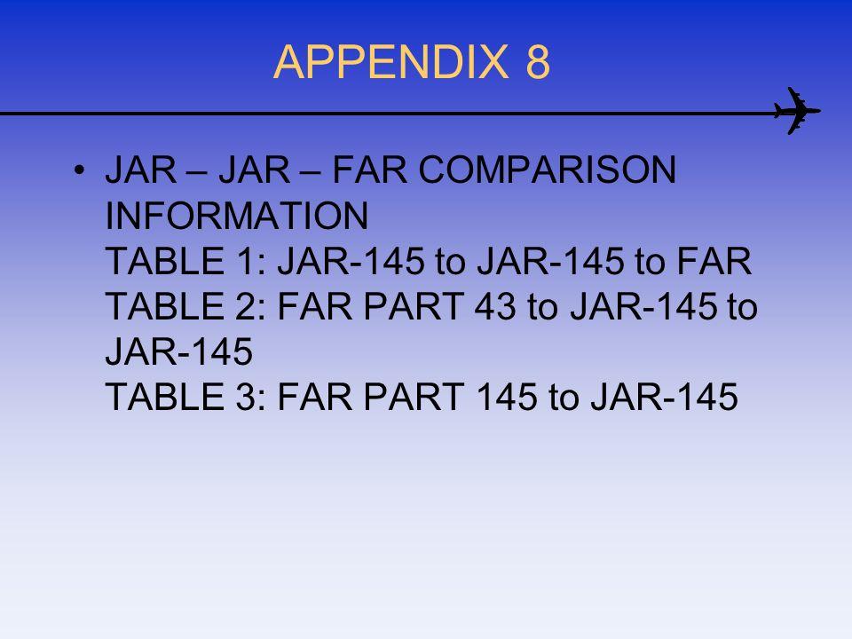 APPENDIX 8
