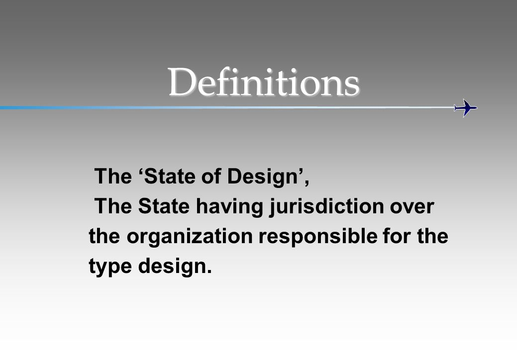 Definitions the organization responsible for the type design.