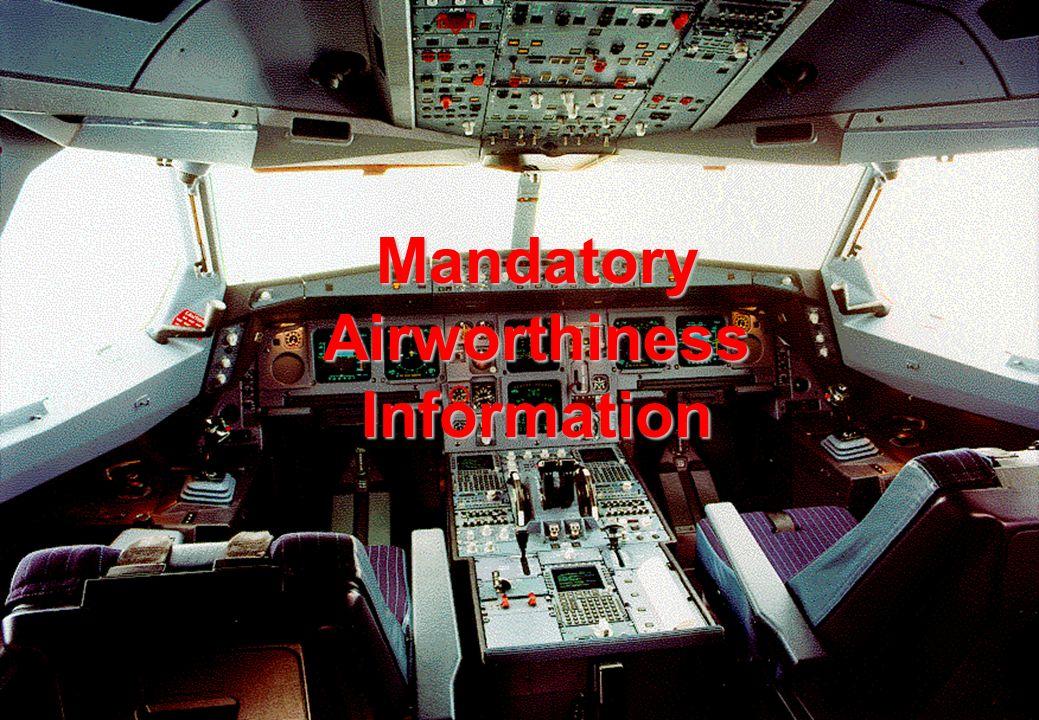 Mandatory Airworthiness Information