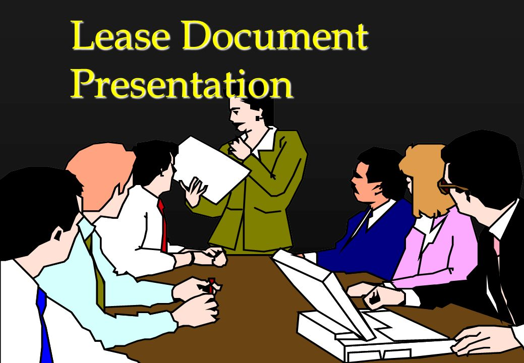 Lease Document Presentation