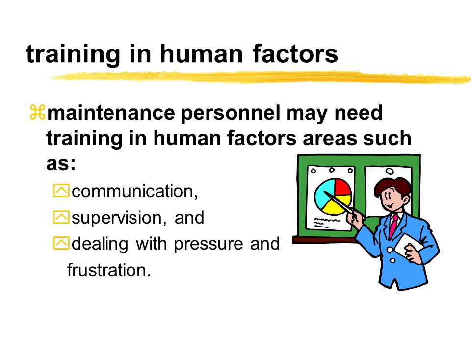 training in human factors
