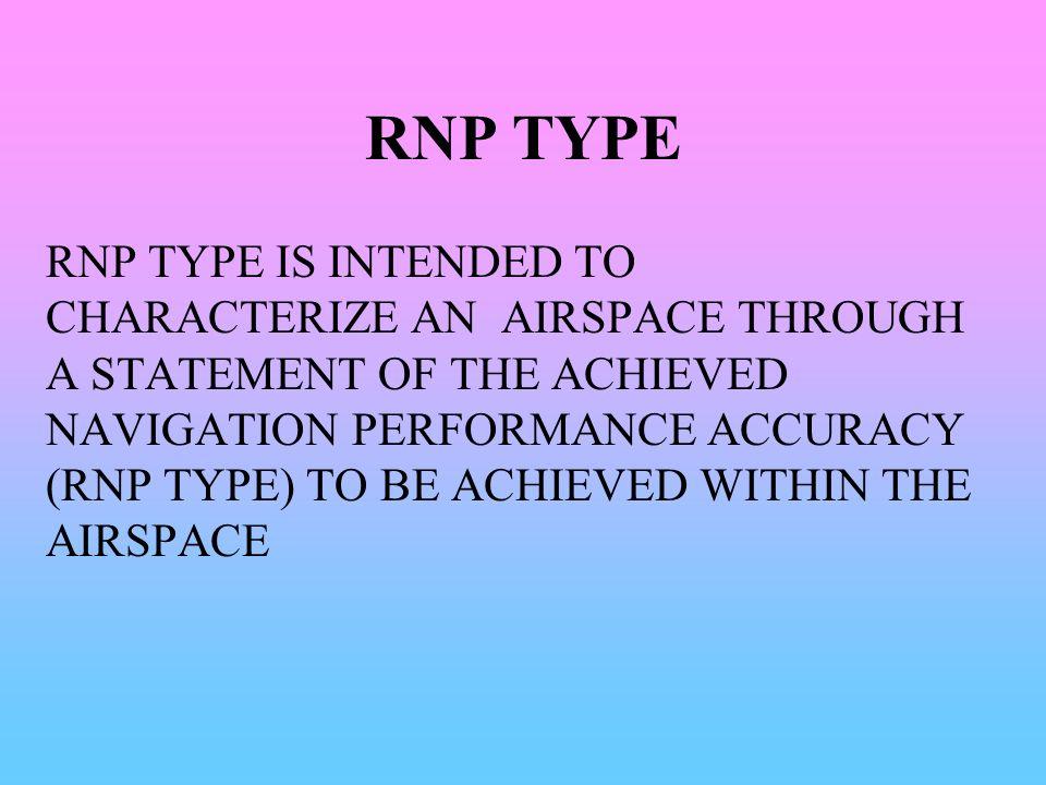 RNP TYPE