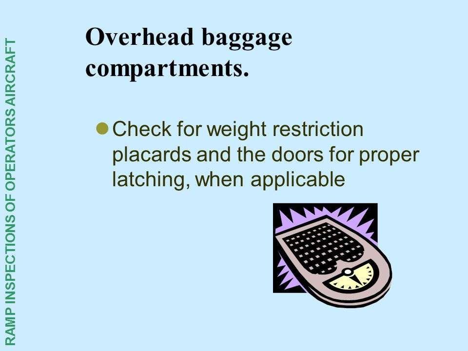 Overhead baggage compartments.