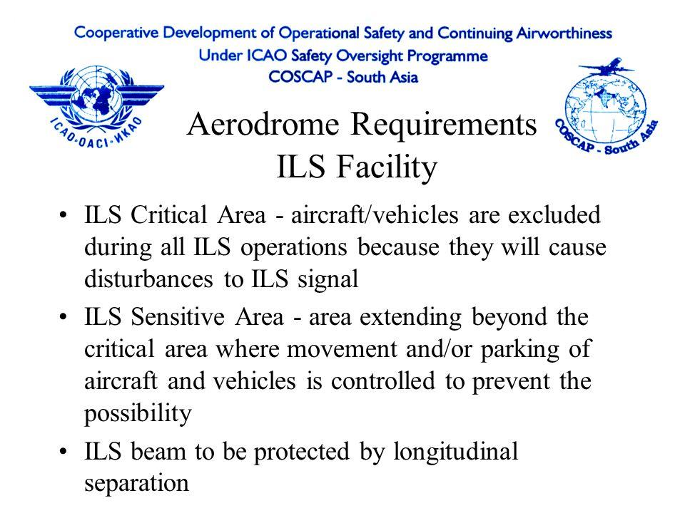 Aerodrome Requirements ILS Facility