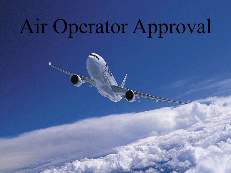 Air Operator Approval