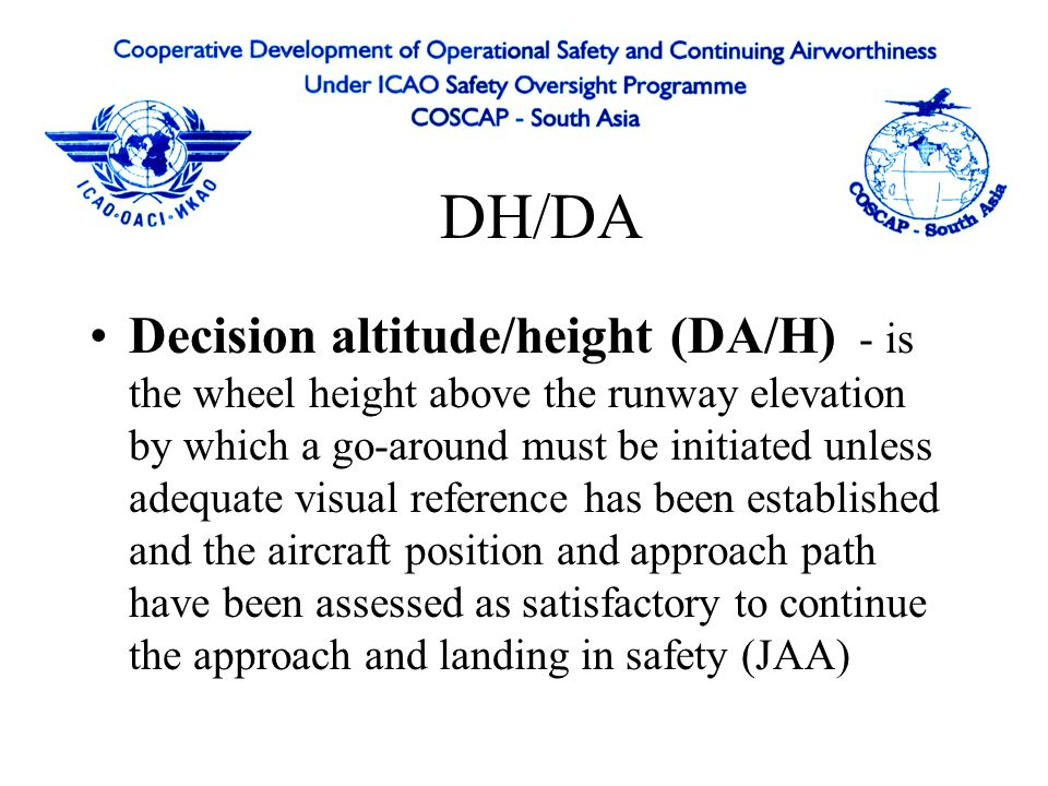 Flight Operations View Ppt Video Online Download - Altitude and height