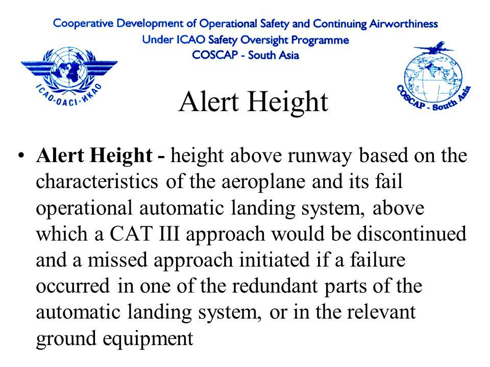 Alert Height