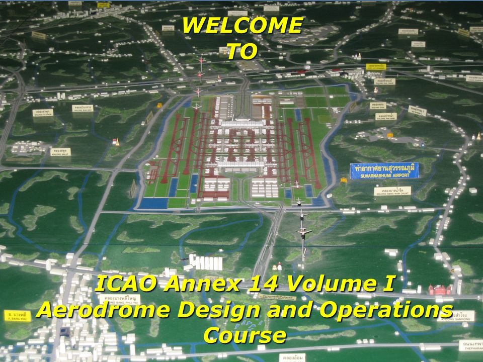 Aerodrome Design and Operations Course