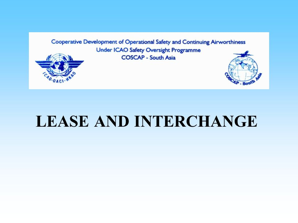 LEASE AND INTERCHANGE