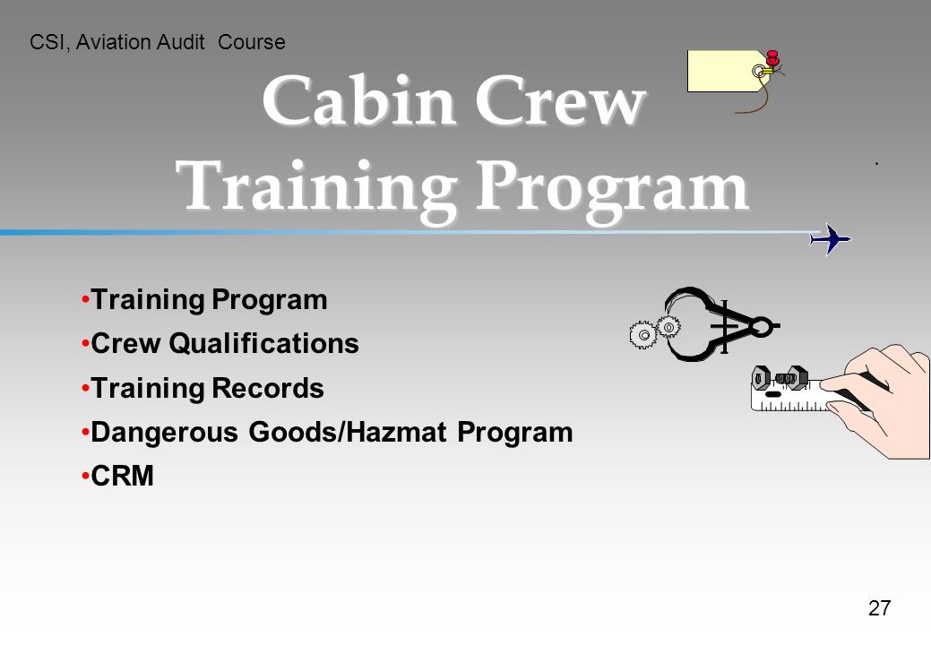Cabin Crew Training Program