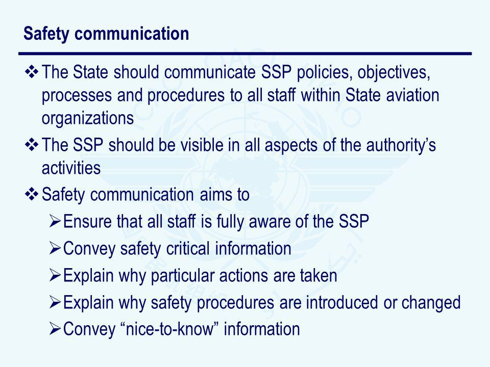 Safety communication