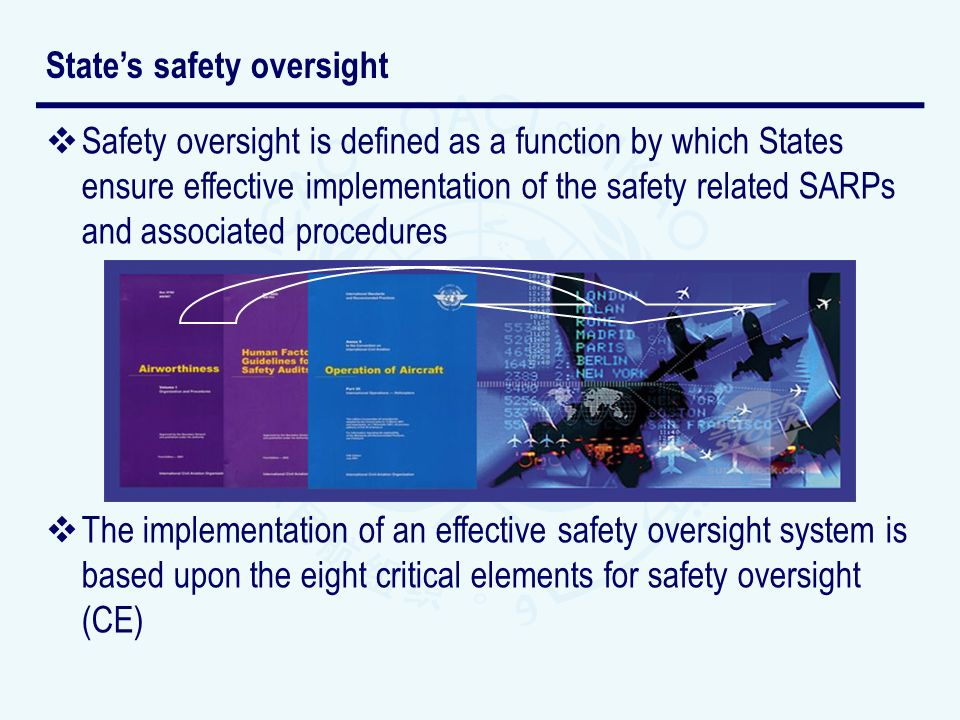 State's safety oversight