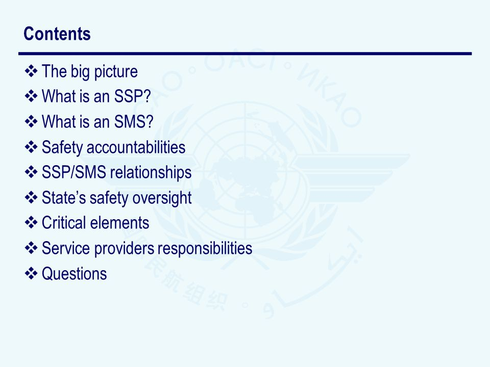 Contents The big picture What is an SSP What is an SMS