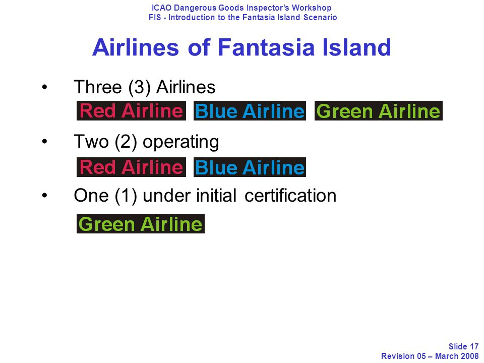 Airlines of Fantasia Island