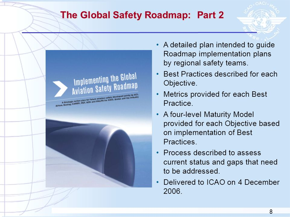 The Global Safety Roadmap: Part 2