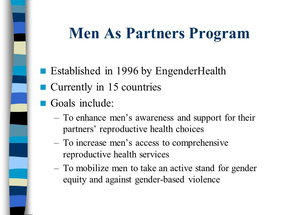 Men As Partners Program