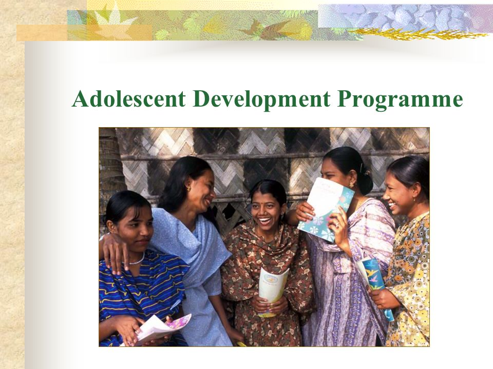Adolescent Development Programme