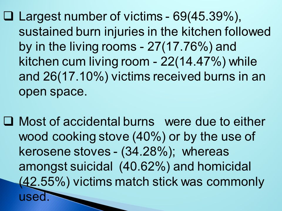 Largest number of victims - 69(45