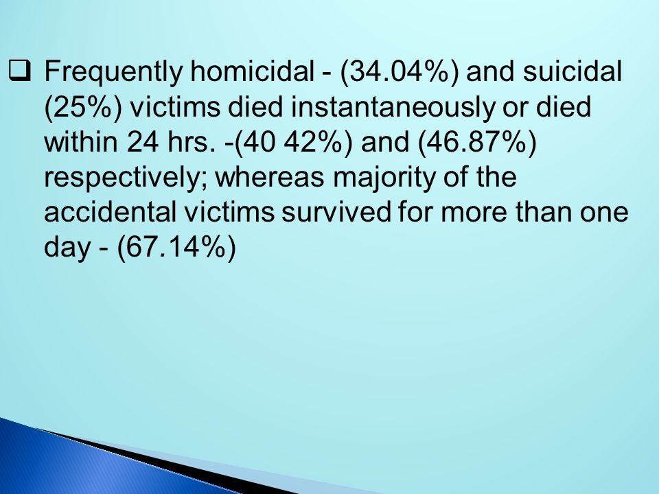 Frequently homicidal - (34