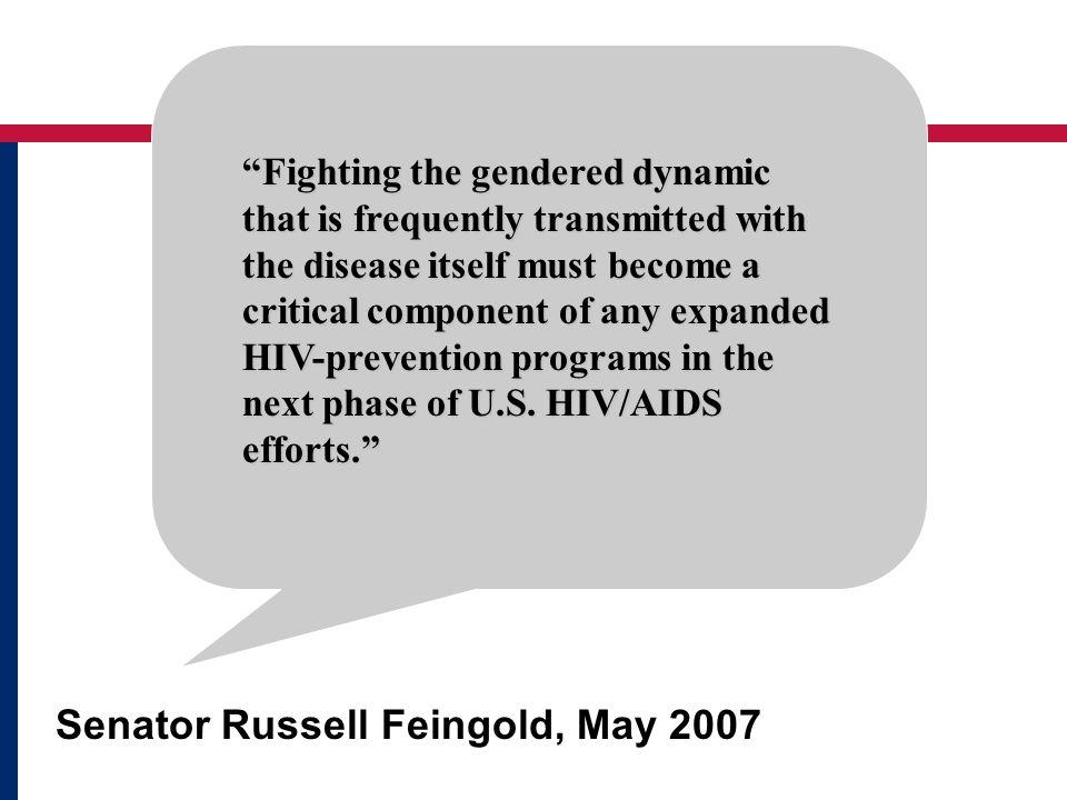 Senator Russell Feingold, May 2007