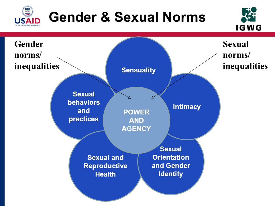 Gender & Sexual Norms Gender norms/ inequalities