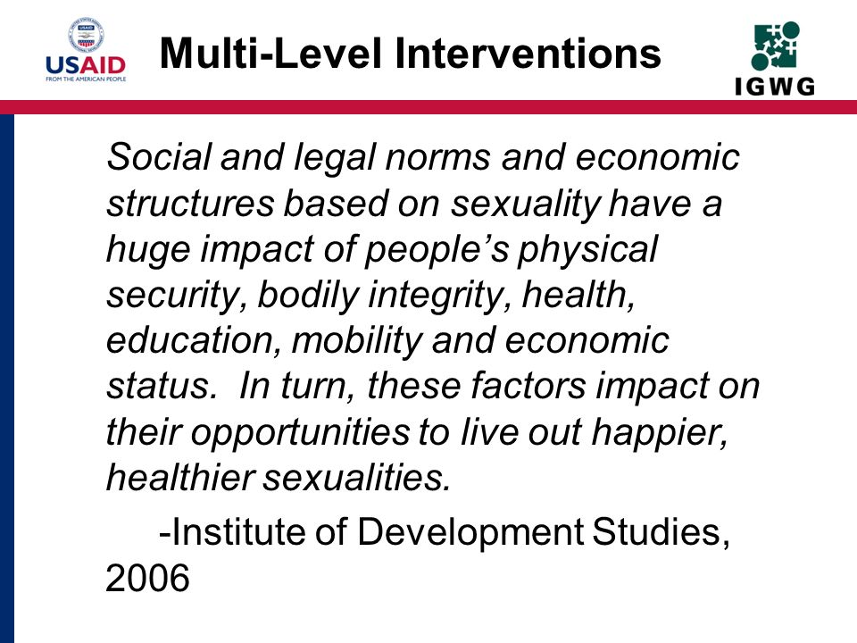 Multi-Level Interventions