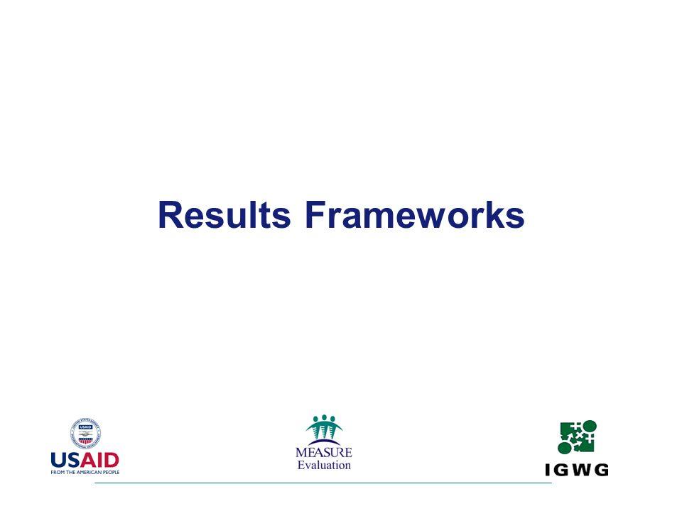 Results Frameworks