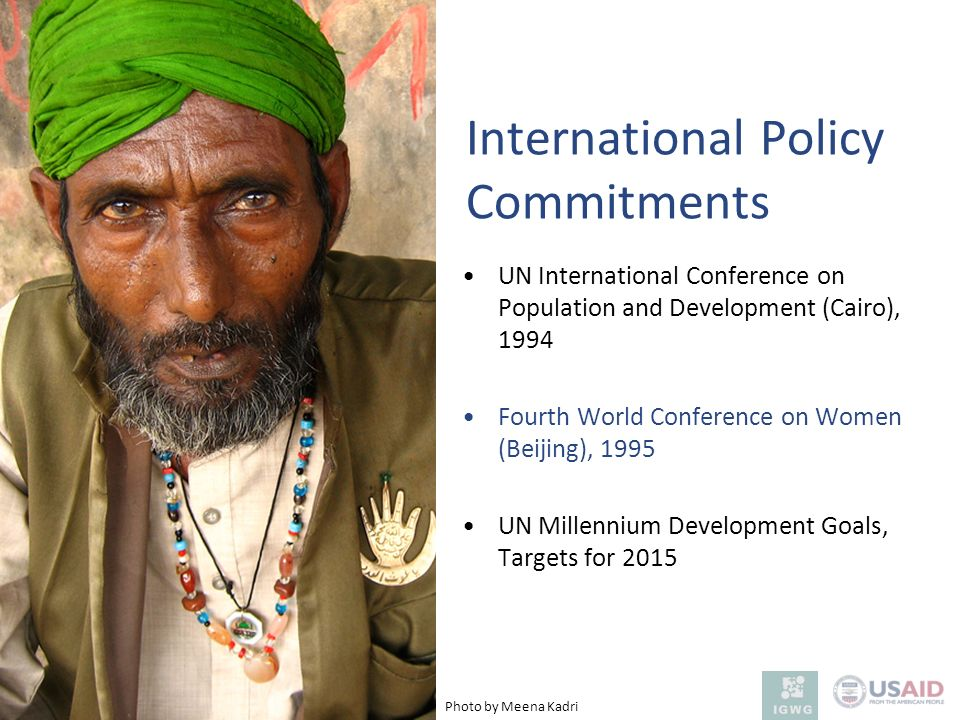 International Policy Commitments