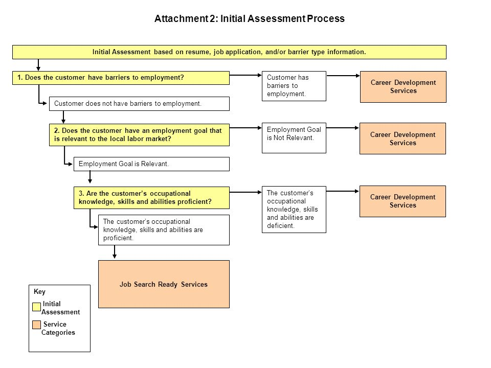 Attachment 2: Initial Assessment Process