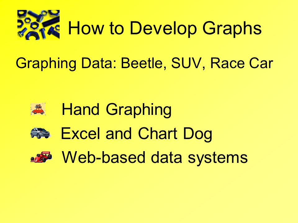 How to Develop Graphs Hand Graphing Excel and Chart Dog