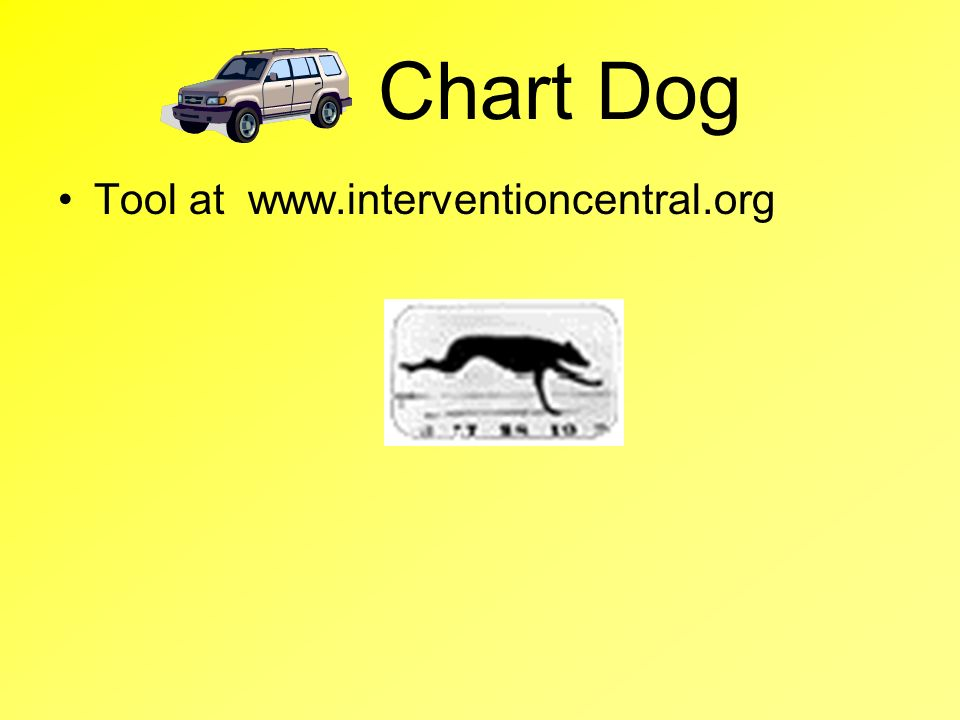 Chart Dog Tool at www.interventioncentral.org
