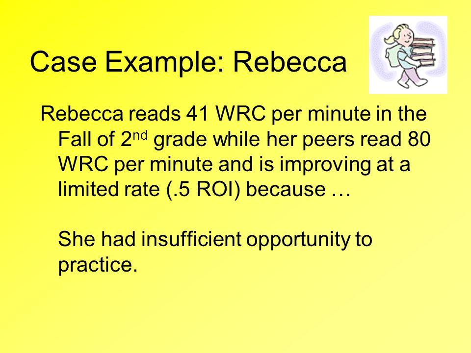Case Example: Rebecca