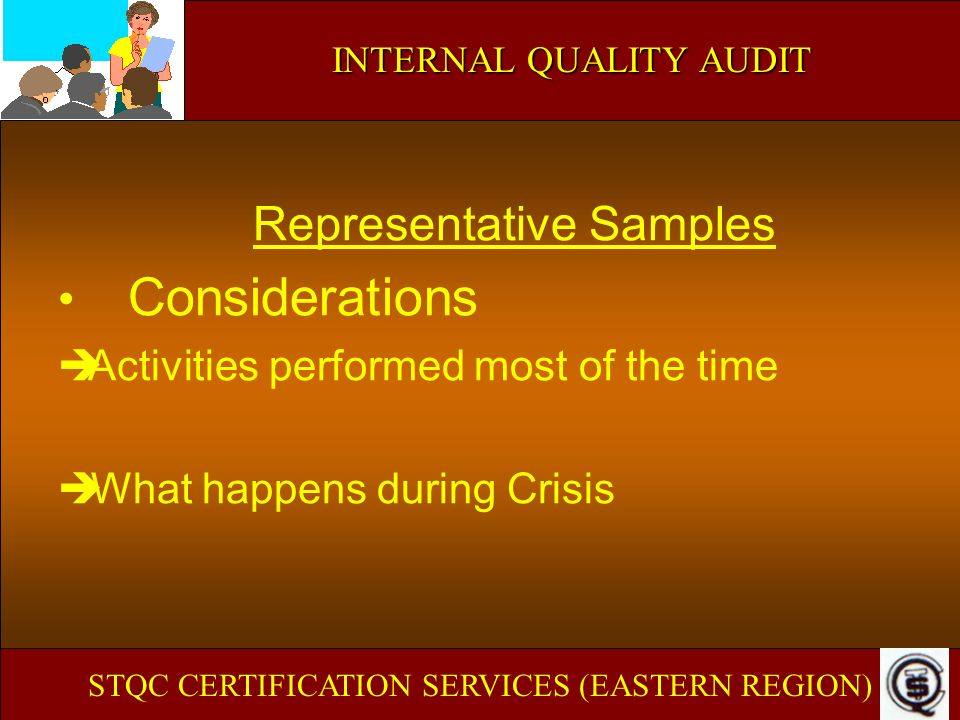 Representative Samples Considerations