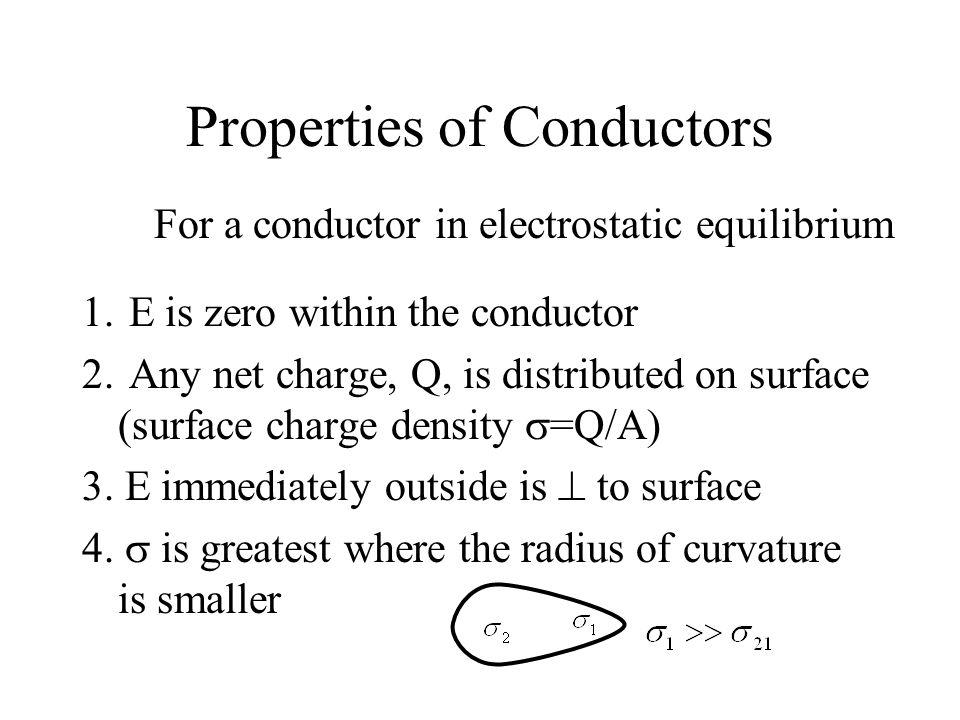 Properties of Conductors