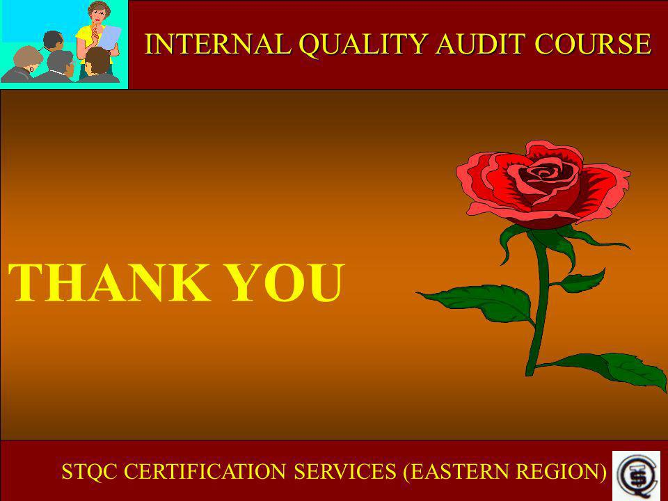 THANK YOU ISO 9000 IN EDUCATIONAL & TRAINING INSTITUTE
