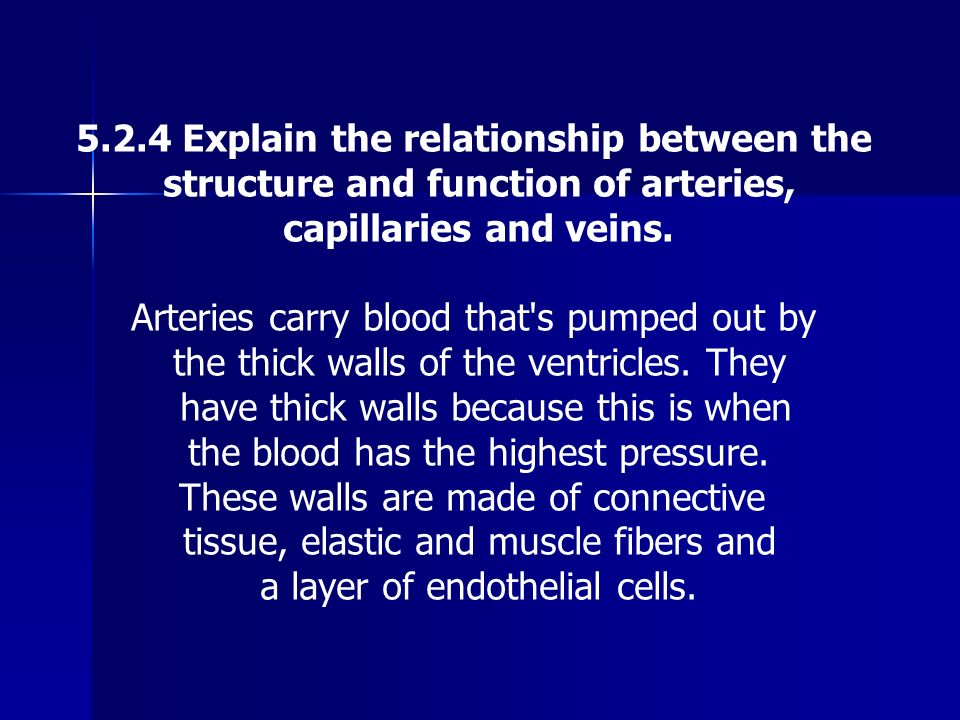 5.2.4 Explain the relationship between the