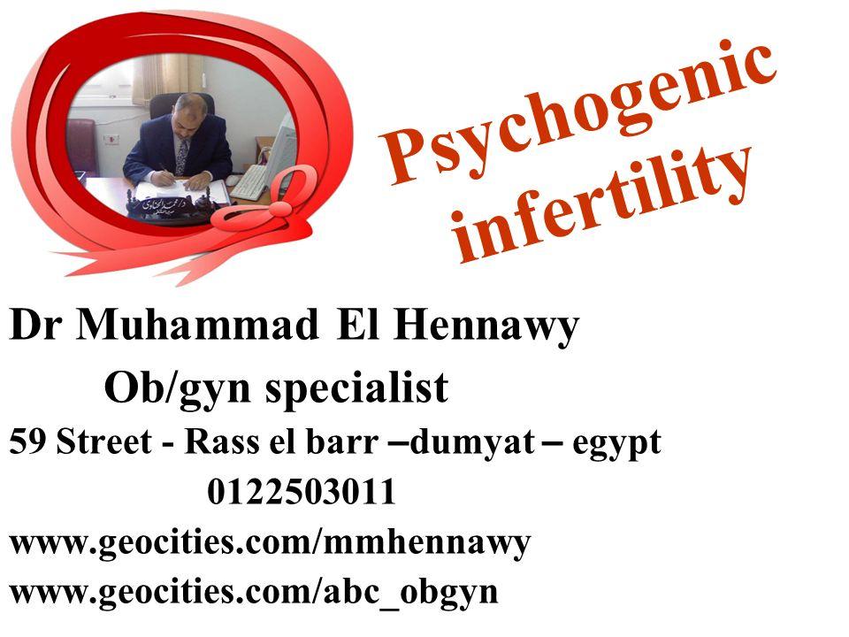 Psychogenic infertility