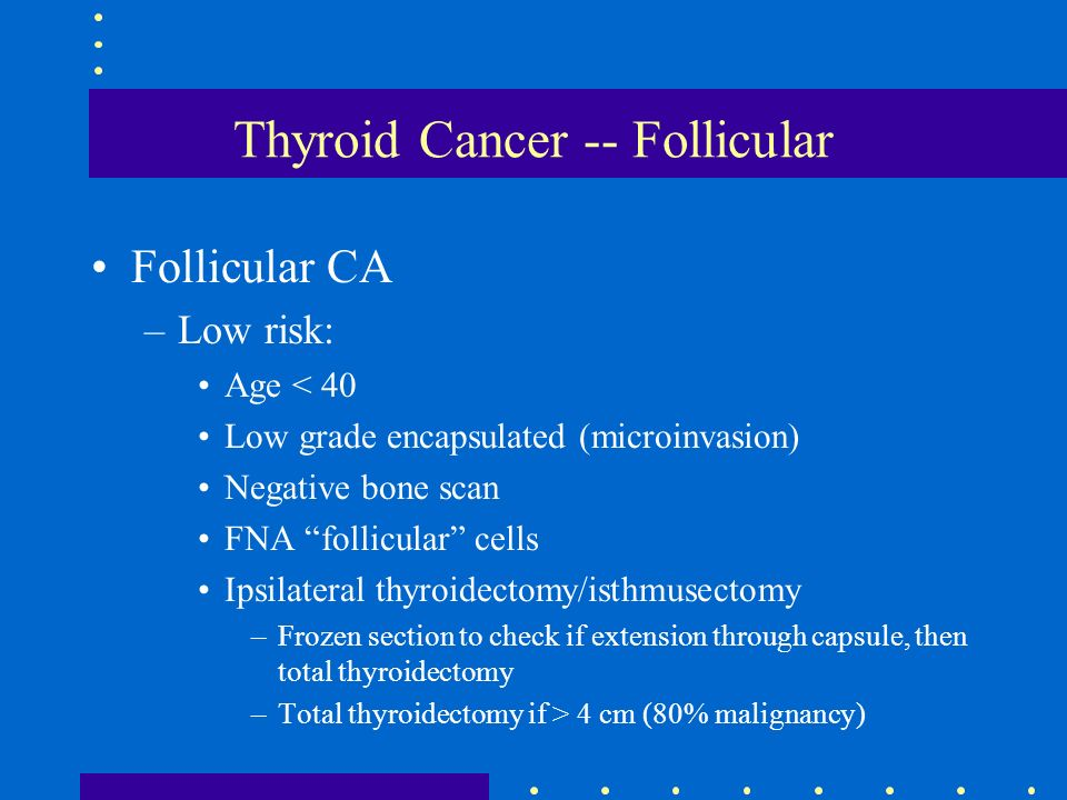 Thyroid Cancer -- Follicular