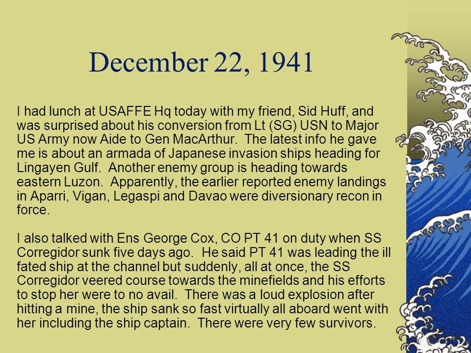 December 22, 1941